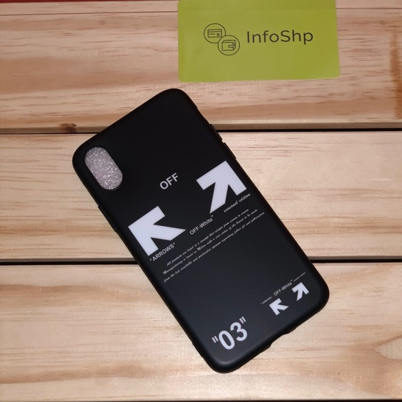 newest 924a4 9737c Off white iPhone X/xs. case Boutique